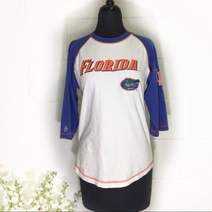 Florida Gators Vintage Style Raglan Cotton Shirt